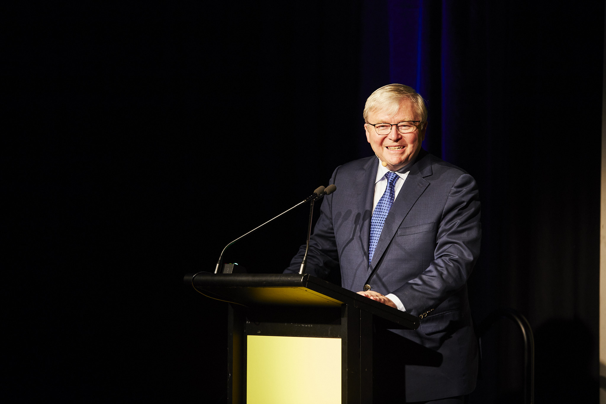 Kevin Rudd talking GFC