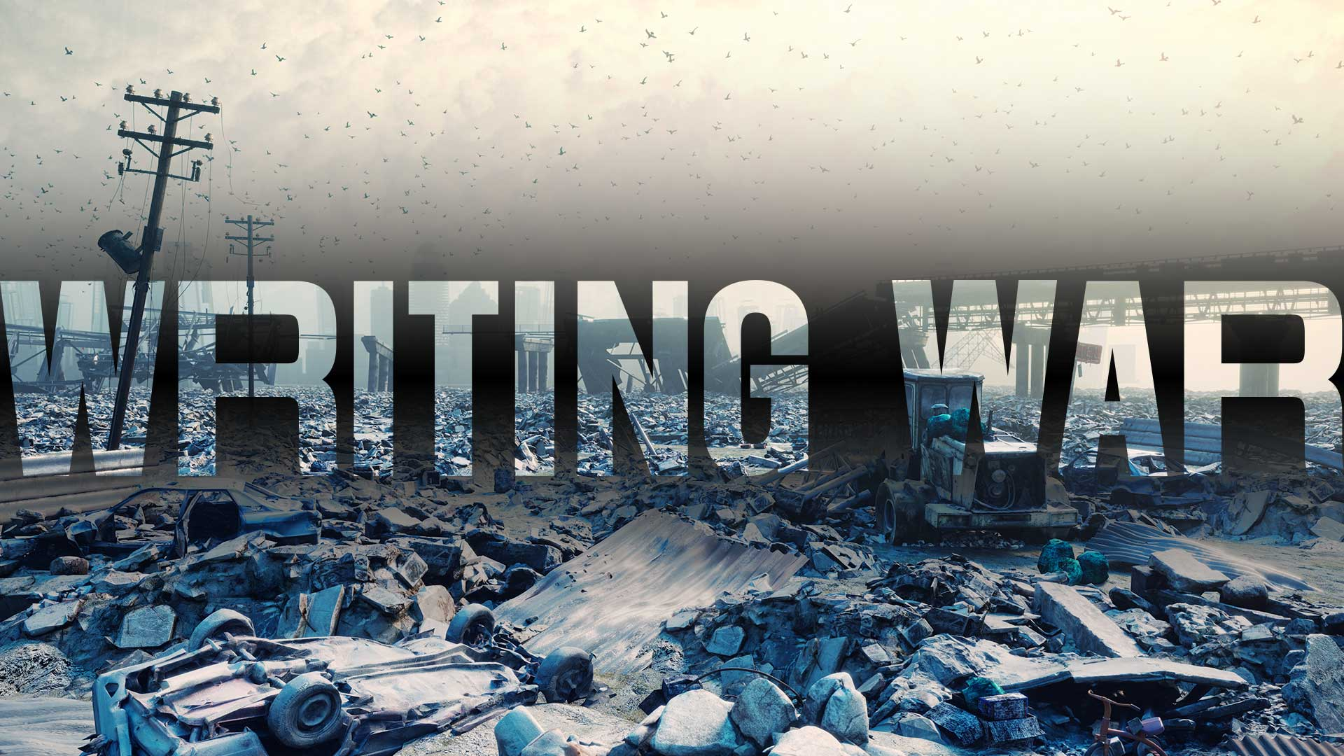 Writing War Concept Image