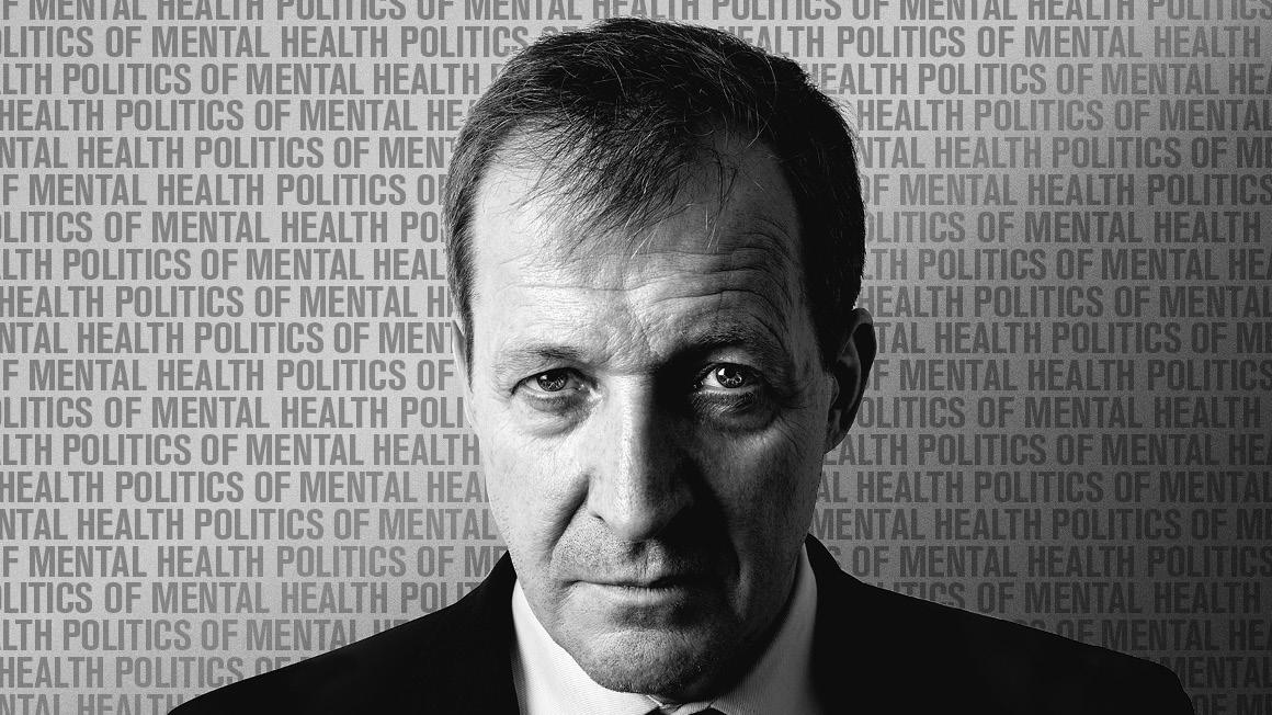 Alastair Campbell protrait